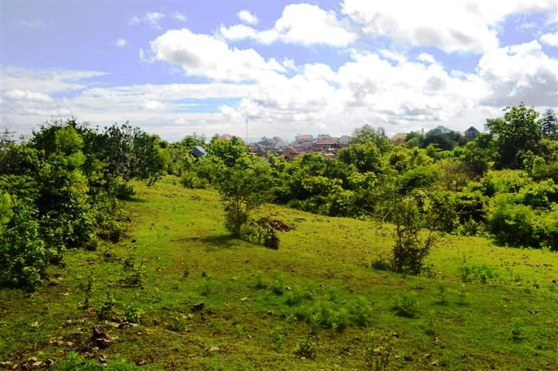 Land in Jimbaran Bali