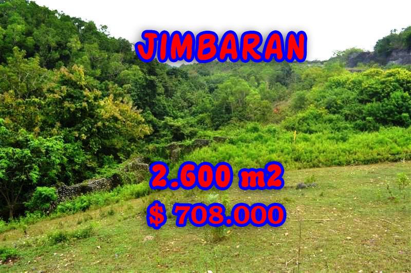 Property in Bali for sale, Extraordinary land for sale in Jimbaran Bali  – 2.600 m2 @ $ 272