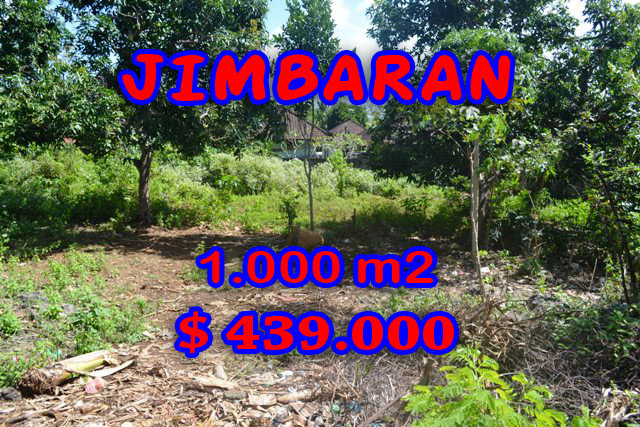 Outstanding Property for sale in Bali, land for sale in Jimbaran Bali  – 1.000 sqm @ $ 439