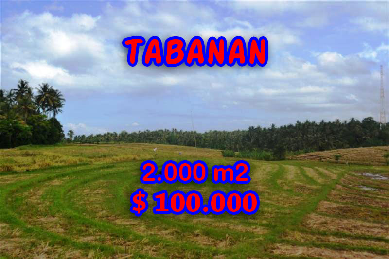 Land for sale in Bali, Outstanding view in Tabanan Tanah Lot Bali – TJTB055