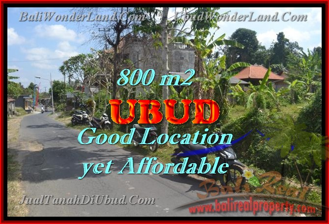 Exceptional Property in Bali, land for sale in Ubud Bali – TJUB426