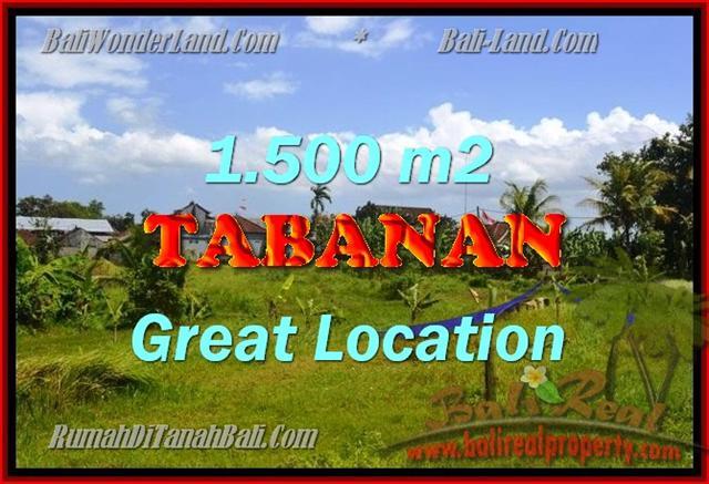 Amazing Land in Bali for sale in Tabanan Kota ( City ) Bali – TJTB144