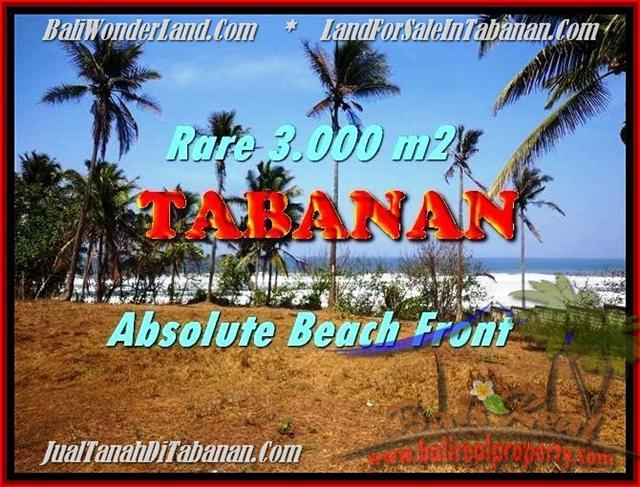 FOR SALE Magnificent PROPERTY 3.000 m2 LAND IN TABANAN BALI TJTB168