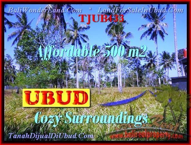Affordable PROPERTY 500 m2 LAND IN UBUD BALI FOR SALE TJUB433