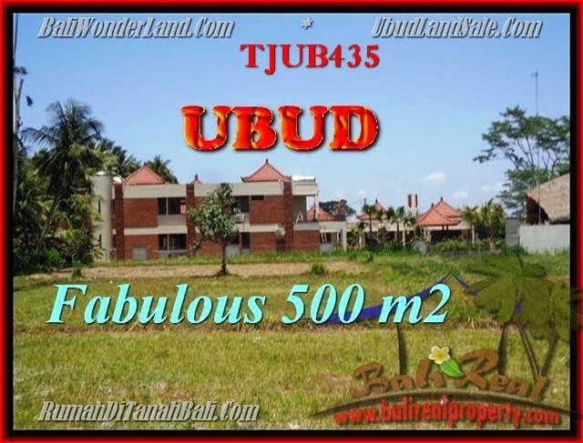 FOR SALE Magnificent 500 m2 LAND IN UBUD TJUB435
