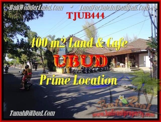 Magnificent PROPERTY UBUD BALI 400 m2 LAND FOR SALE TJUB444