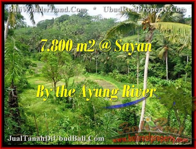 Exotic 7,800 m2 LAND SALE IN UBUD TJUB472