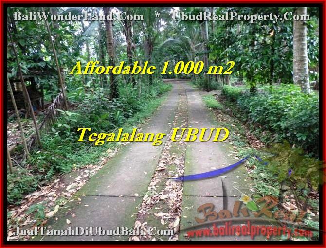 Affordable UBUD 1,000 m2 LAND FOR SALE TJUB467