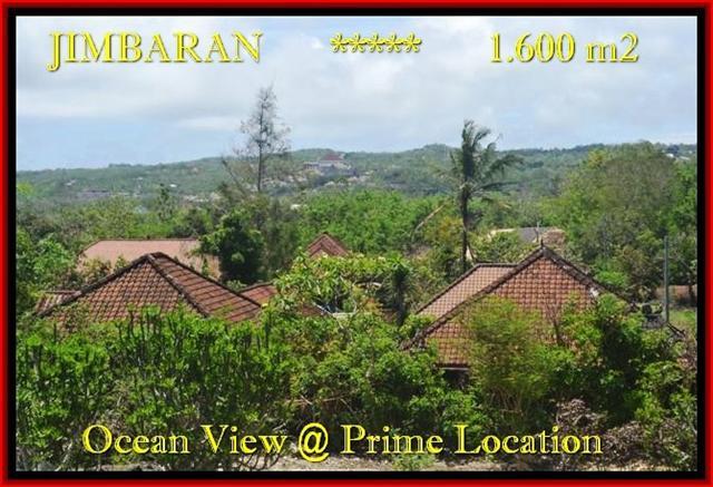 Exotic 1.600 m2 LAND IN Jimbaran Ungasan BALI FOR SALE TJJI089