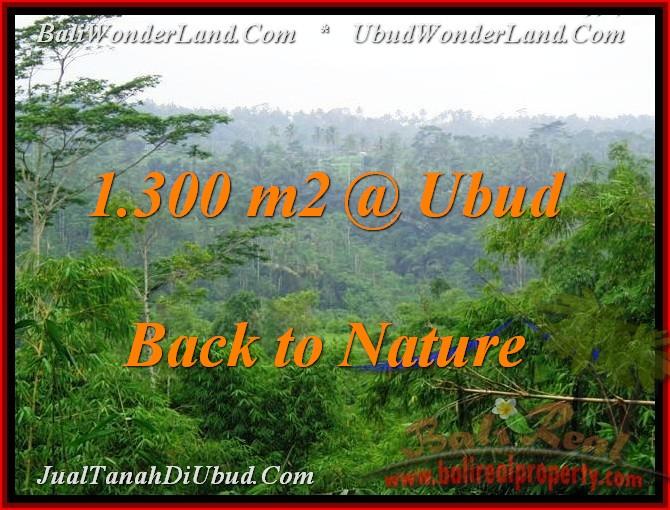 UBUD 1,300 m2 LAND FOR SALE TJUB481