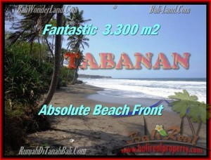 Beautiful 2,345 m2 LAND SALE IN TABANAN BALI TJTB158
