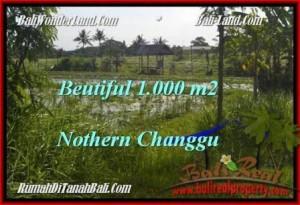 Beautiful 1,000 m2 LAND IN CANGGU FOR SALE TJCG180