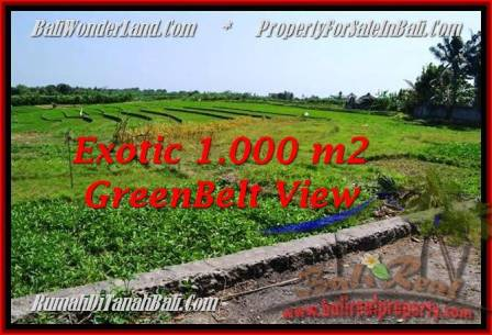 Beautiful PROPERTY 1,000 m2 LAND FOR SALE IN CANGGU BALI TJCG184
