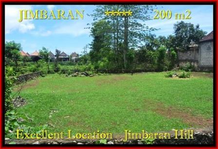 Beautiful Jimbaran Ungasan LAND FOR SALE TJJI087