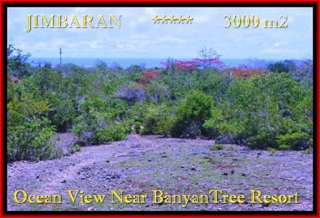 FOR SALE Magnificent 3.000 m2 LAND IN Jimbaran Ungasan BALI TJJI090