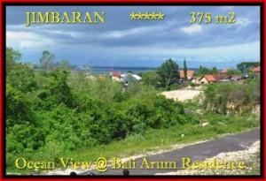 FOR SALE Beautiful 375 m2 LAND IN Jimbaran Uluwatu BALI TJJI095