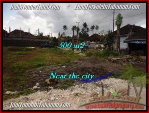 Beautiful TABANAN BALI 500 m2 LAND FOR SALE TJTB201