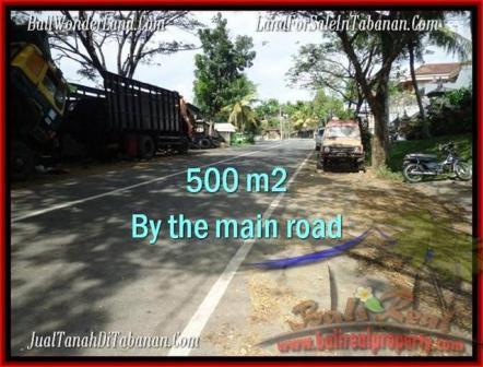 Affordable PROPERTY 500 m2 LAND SALE IN TABANAN BALI TJTB202