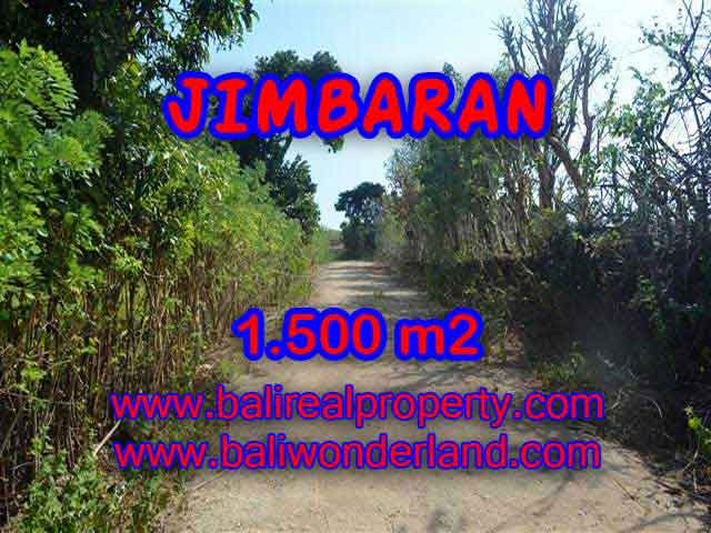 Magnificent 1,500 m2 LAND FOR SALE IN JIMBARAN TJJI075