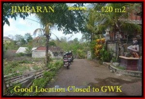 FOR SALE Exotic 420 m2 LAND IN Jimbaran Ungasan BALI TJJI083