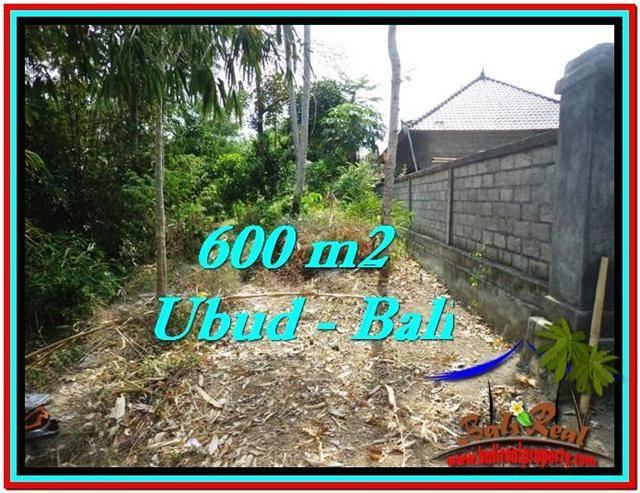600 m2 LAND FOR SALE IN UBUD BALI TJUB523