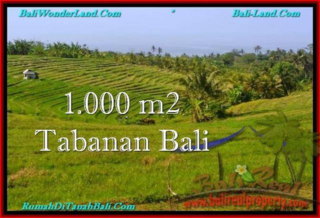 Exotic 1,000 m2 LAND IN TABANAN BALI FOR SALE TJTB237