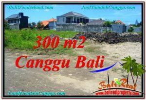 Exotic CANGGU 300 m2 LAND FOR SALE TJCG203