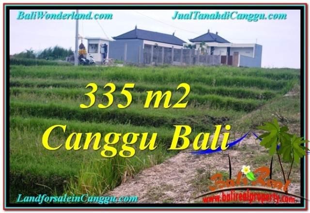 Exotic CANGGU 335 m2 LAND FOR SALE TJCG204