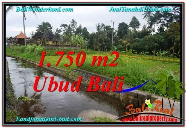 715 m2 LAND FOR SALE IN UBUD BALI TJUB557