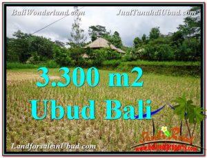 Affordable PROPERTY UBUD BALI 3,300 m2 LAND FOR SALE TJUB562