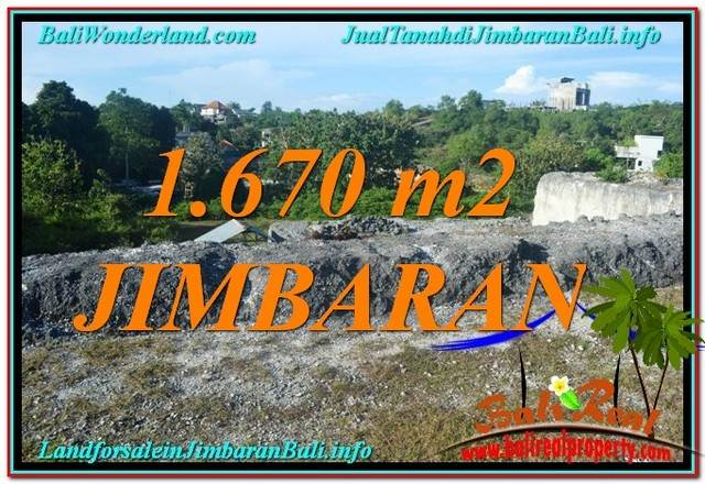 Beautiful Jimbaran Ungasan 1,670 m2 LAND FOR SALE TJJI116