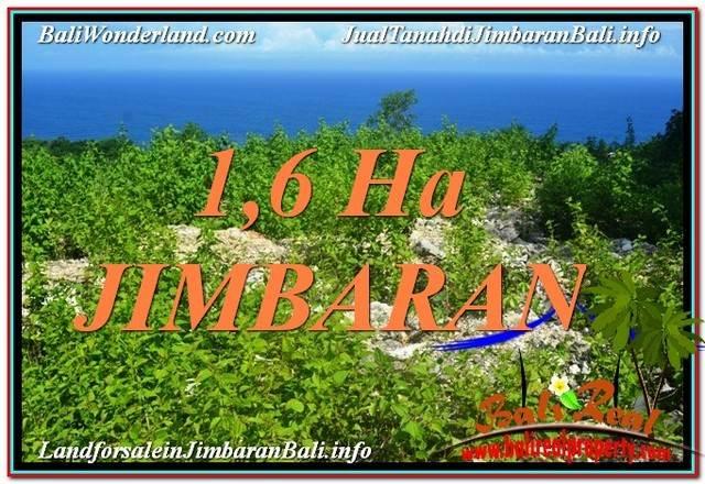 Magnificent 16,000 m2 LAND IN Jimbaran Uluwatu  FOR SALE TJJI112