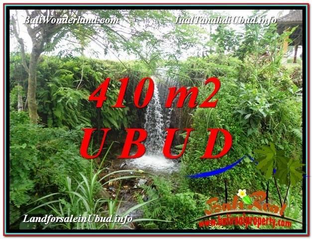 Beautiful UBUD BALI 410 m2 LAND FOR SALE TJUB578