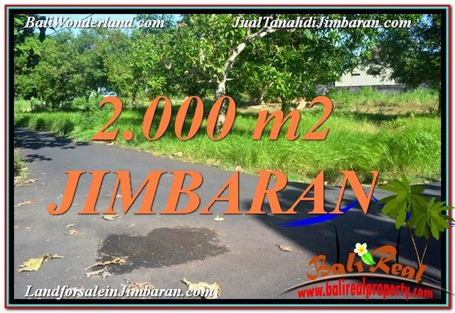 Beautiful JIMBARAN BALI LAND FOR SALE TJJI114