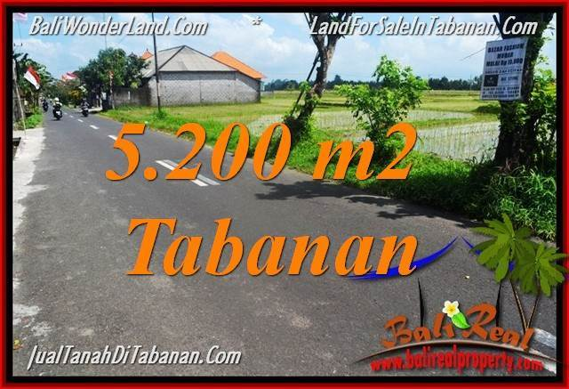 Magnificent PROPERTY Tabanan Kediri BALI LAND FOR SALE TJTB351