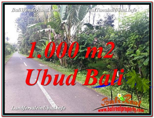 Exotic Ubud Tegalalang BALI LAND FOR SALE TJUB614