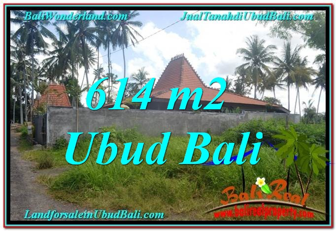 FOR SALE Affordable 614 m2 LAND IN UBUD TJUB622