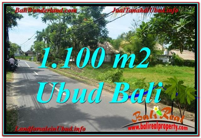 Beautiful 1,100 m2 LAND FOR SALE IN Sentral / Ubud Center TJUB645