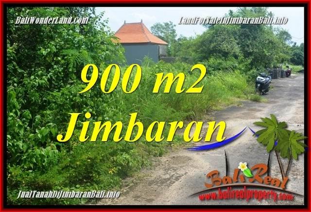 Exotic PROPERTY JIMBARAN BALI 900 m2 LAND FOR SALE TJJI124