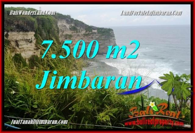 Affordable PROPERTY 7,500 m2 LAND SALE IN Jimbaran Uluwatu  TJJI126