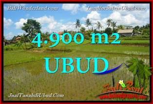 Exotic PROPERTY UBUD BALI 4,900 m2 LAND FOR SALE TJUB652