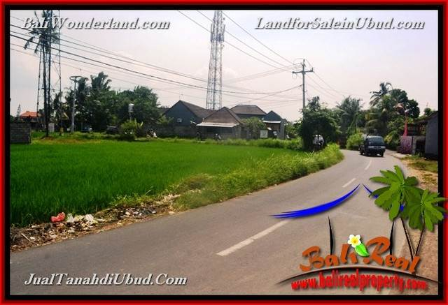 Magnificent LAND FOR SALE IN UBUD TJUB650