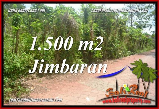 Beautiful JIMBARAN BALI 1,500 m2 LAND FOR SALE TJJI128