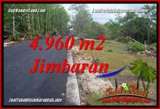Magnificent 4,960 m2 LAND IN JIMBARAN UNGASAN BALI FOR SALE TJJI133