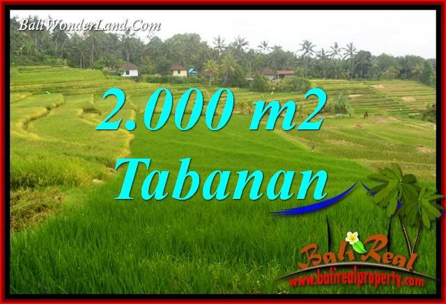 Land for sale in Tabanan Bali TJTB396