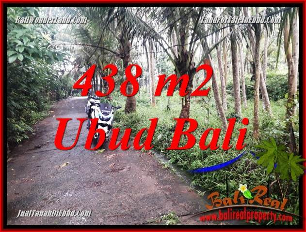 Affordable 438 m2 Land for sale in Ubud Bali TJUB689