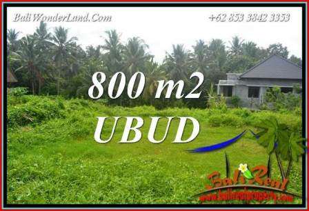 Exotic Property Land sale in Ubud TJUB706