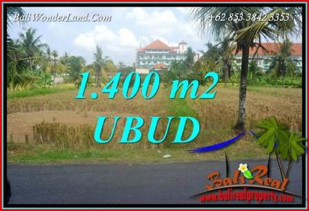Magnificent 1,400 m2 Land for sale in Sentral Ubud TJUB709