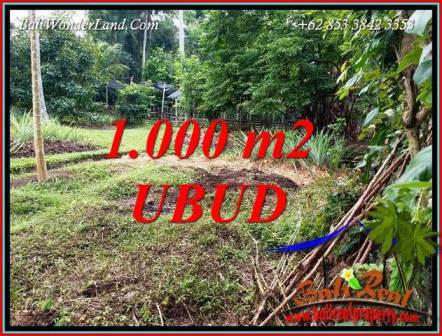 Magnificent 1,000 m2 Land in Sentral Ubud for sale TJUB712