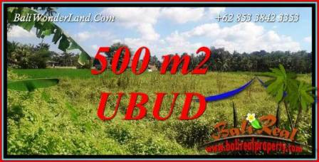 Land for sale in Ubud TJUB724